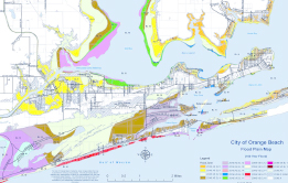 Floodplain Management Map of Orange Beach