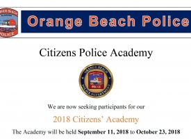 2018 OBPD Citizens Police Academy