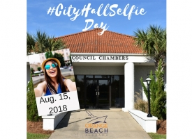 City Hall Selfie Day is August 15, 2018