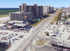 Flora-Bama Google 3D view for release on road safety improvements