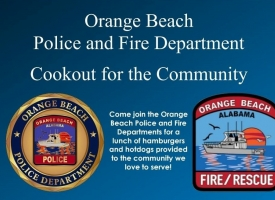 OBFD and OBPD Cookout for the Community