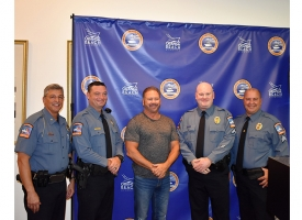 Orange Beach Police Department promotions August 2018