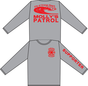 Molly's Patrol shirts