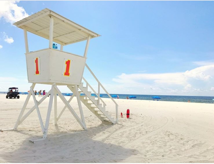 Orange Beach Surf Rescue Tower 1