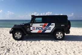 Orange Beach Police Department Beach Jeep
