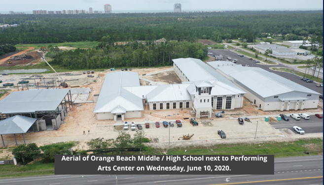 Orange Beach Middle - High School and PAC, June 2020