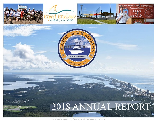 Cover of the 2018 Annual Report