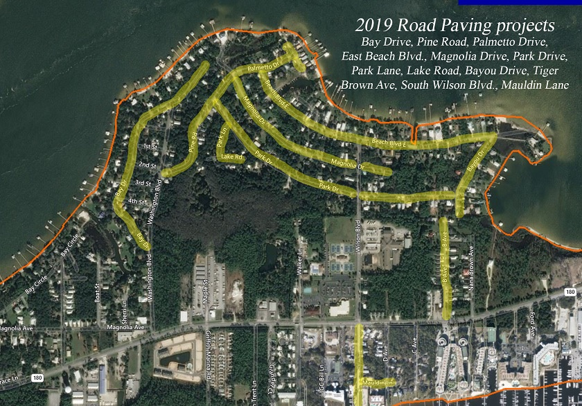 2019 City of Orange Beach Resurfacing Project