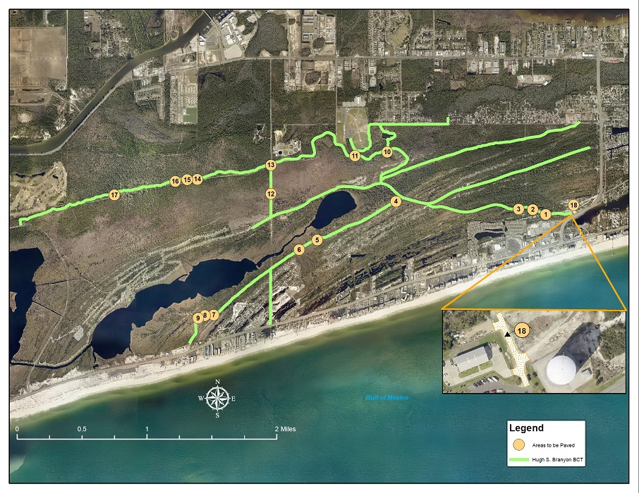 2019 City of Orange Beach Resurfacing Project - Backcountry Trail repairs