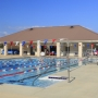 Junior Olympic-sized swimming pool at Orange Beach Aquatics Center