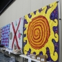 Murals at Alabama Art Education Association conference