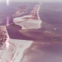 Aerial photo of Perdido Pass in the 1970s