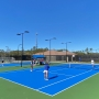 Orange Beach Tennis Center shown on grand reopening on November 18, 2020