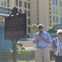 Historical marker unveiled at Romar Beach in Orange Beach on Tuesday, Oct. 2, 2017.