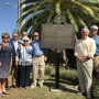 Orange Beach officials unveil historical marker at Romar Beach on Tuesday, Oct. 3, 2017.