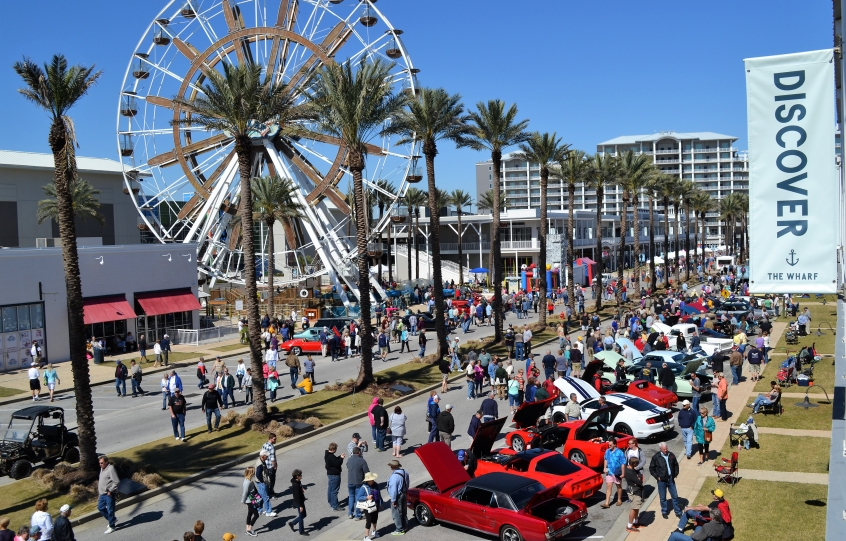 2016 Orange Beach Seafood Festival Car Show