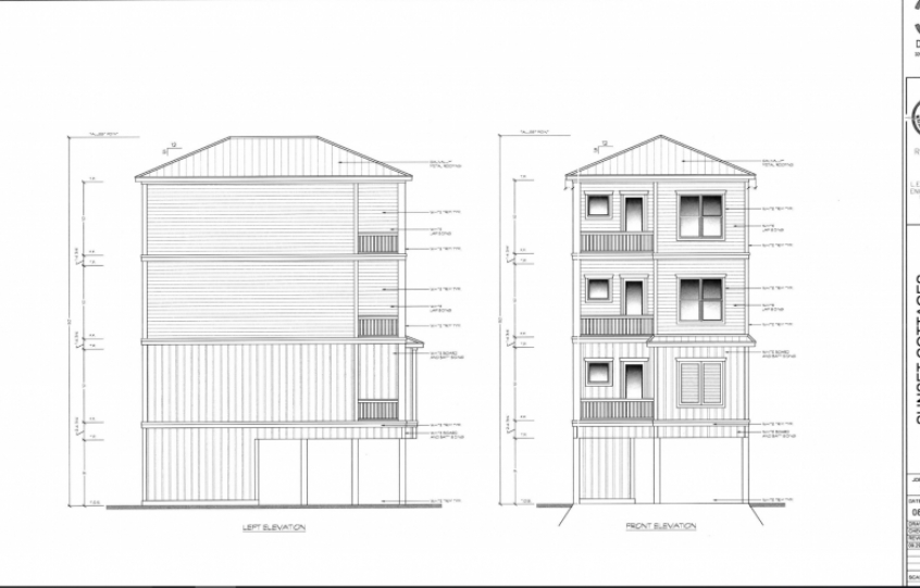 Sunset Cottages rendering