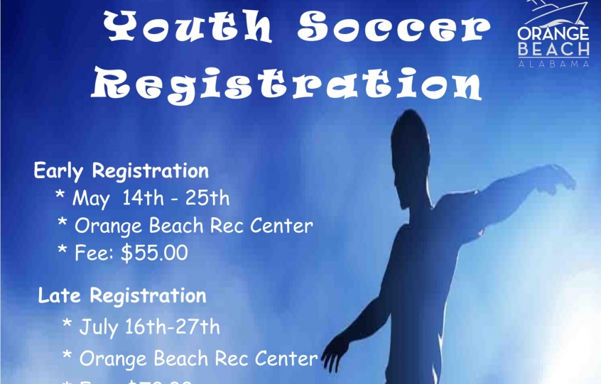 2018 Fall Youth Soccer Registration