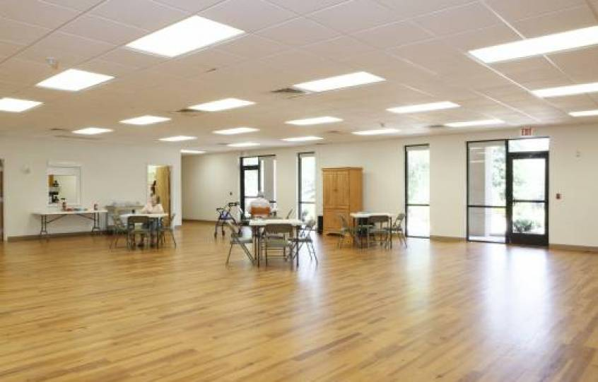 Multipurpose room at Orange Beach Adult/Senior Activity Center