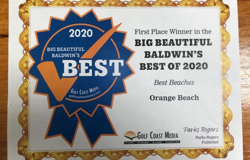 Best of Baldwin 2020: Best Beaches - Orange Beach