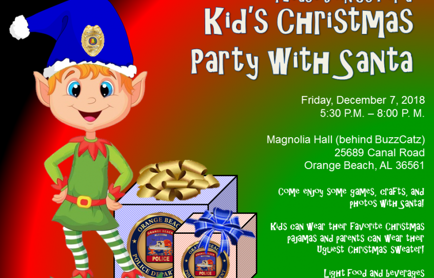 OBPD Kids Christmas Party