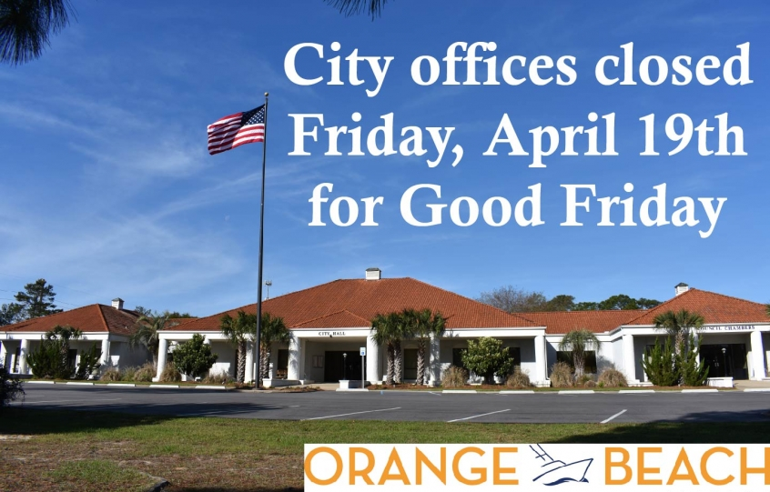 City Offices Closed Graphic 2019 Good Friday