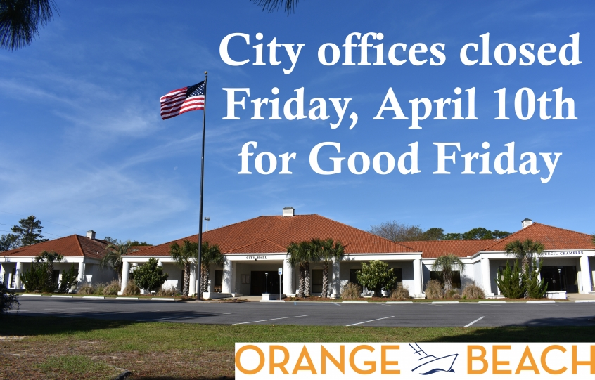 City Offices Closed Graphic 2020 Good Friday