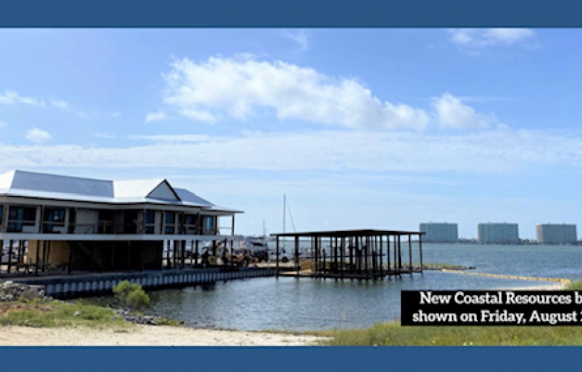 New Coastal Resources office shown on Friday, August 28, 2020