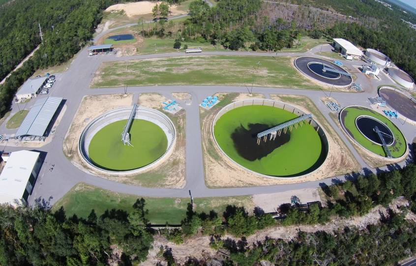 City of Orange Beach wastewater treatment plant