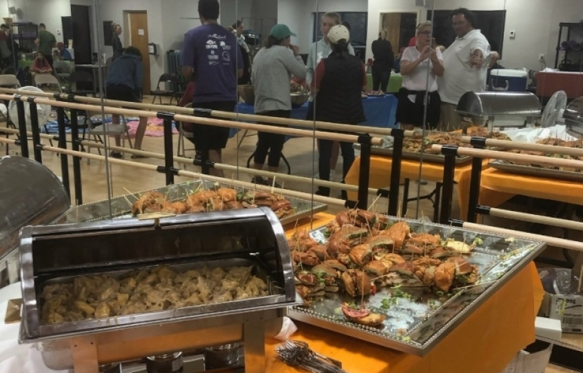 Fin & Fork catered the UTR event