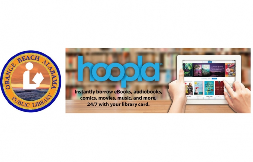 HOOPLA virtual library access being offered at Orange Beach Public Library