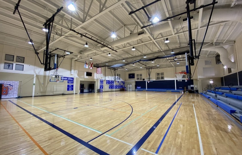 Main gymnasium at Orange Beach Recreation Center