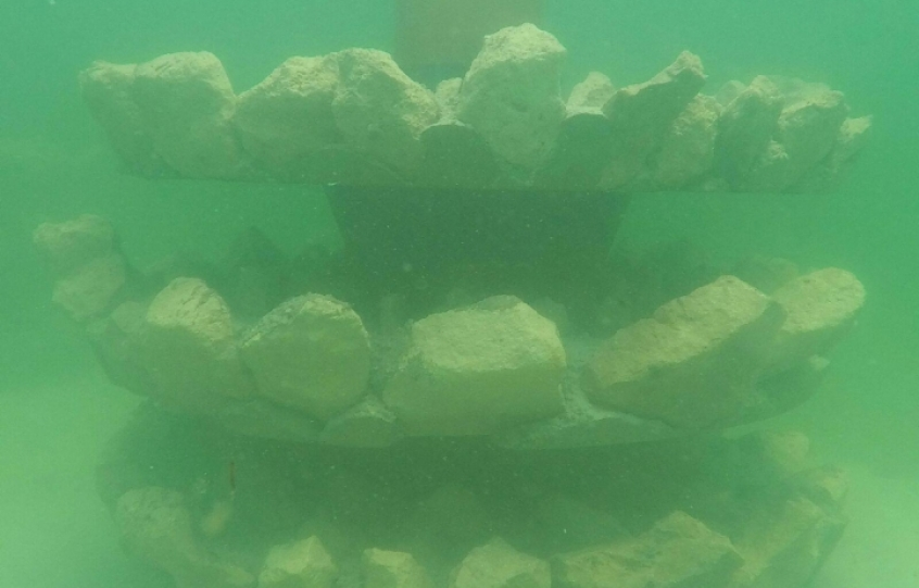 New nearshore reefs in Orange Beach