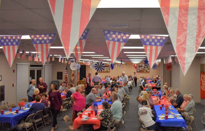 Orange Beach 2018 annual awards at community potluck