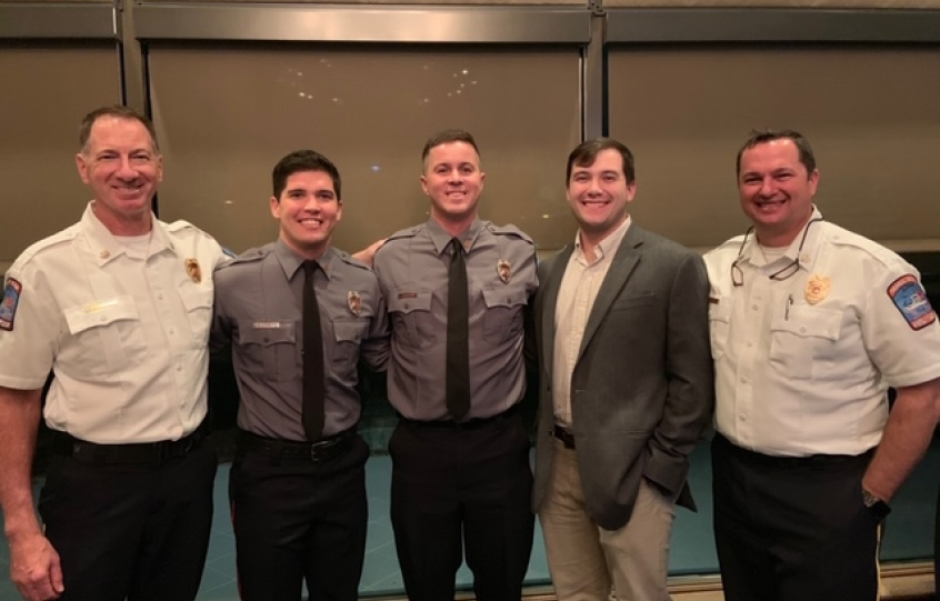 Orange Beach firefighters graduate from paramedic program