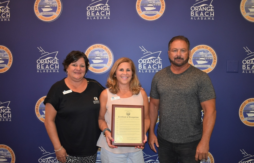 Sports Commission recognized by Orange Beach City Council