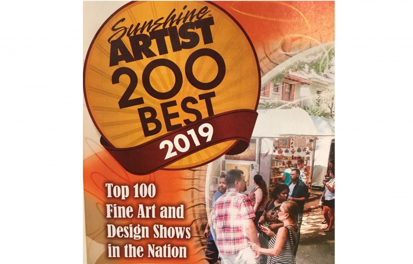 Orange Beach Festival of Art ranked among top shows in nation by Sunshine Artist magazine