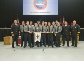 11 recruits graduate from Firefighter I/II Recruit School in Orange Beach