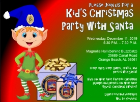 OBPD 2019 Kids' Christmas Party with Santa set for Dec. 11
