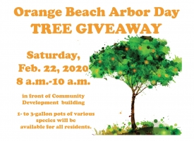 Orange Beach Arbor Day tree giveaway set for Feb. 22, 2020