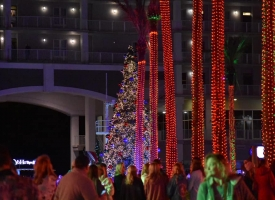 2020 City of Orange Beach Christmas Tree Lighting ceremony held Tuesday, December 1st at The Wharf