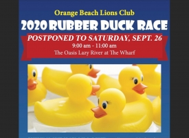2020 Rubber Duck Race fundraiser postponed to Sept. 26