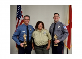 2020 Fire and Police Award winners announced at November Community Potluck