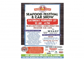 29th Annual Orange Beach Seafood Fest & Car Show flyer