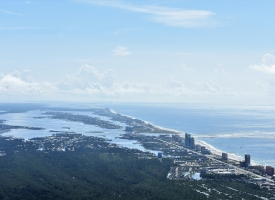 Aerial photo of Orange Beach, Alabama