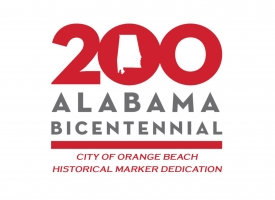 Alabama 200 Orange Beach marker dedication