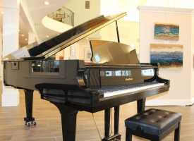 New grand piano at Coastal Arts Center