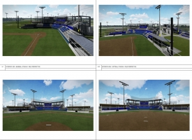 Orange Beach baseball and softball stadium renovations renderings
