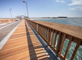 Billy Pope photo of Gulf State Park Pier renovations