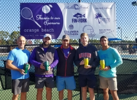 2019 Orange Beach Fall UTR Tennis Tournament attracts 118 players from six states